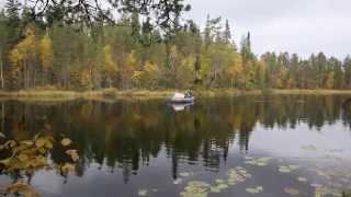 Карелия 2014 (отдых, рыбалка)(Поездка в Карелию на озеро Вихельтаярви., 2015-03-23T19:32:50.000Z)
