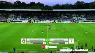 Polonia Warszawa - Gornika Zabrze 1:1 (Gol Préjuce Nakoulma)