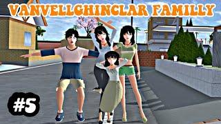 ||VANVELLGHINCLAR FAMILLY||episode 5(ending)||Drama sakura school simulator||