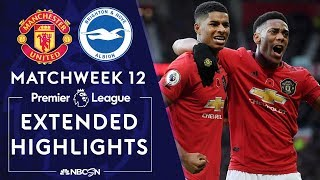 Manchester United v. Brighton | PREMIER LEAGUE HIGHLIGHTS | 11/10/19 | NBC Sports