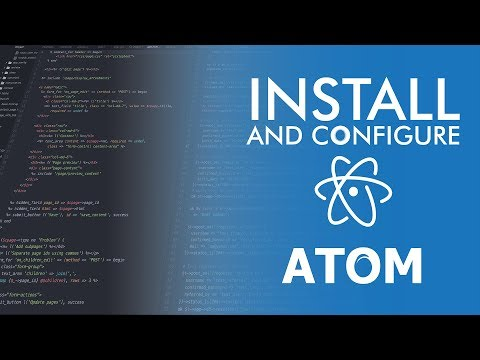 How to install and configure Atom to run C++ code