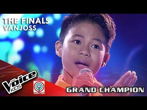 Vanjoss Bayaban - You Raise Me Up | The Finals | The Voice Kids Philippines Season 4