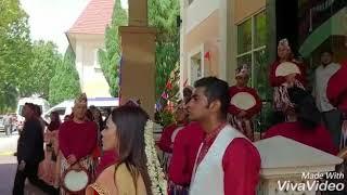 Kompang Cenderawasih  Singapura 11.8.2018 wedding at Arena Country Club