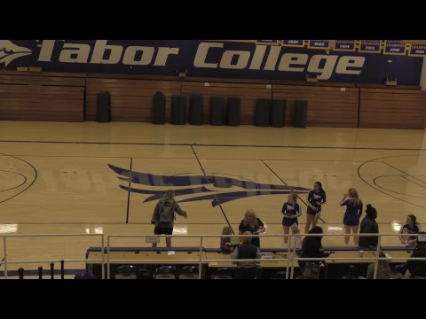 Tabor College Cheer Competition