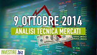 Mercato Italiano, Euro-Dollaro, EUR/GBP Video Analisi Tecnica FOREX 06 10 2014 | Investire.biz
