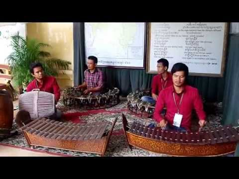 Cambodian Royal Court musicians