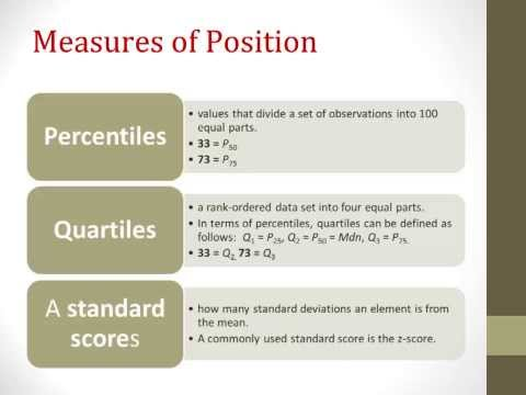 Descriptive Statistics, Part 2