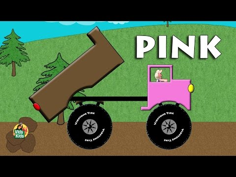 Thumbnail: Dump Truck Colors - Learn Colors With Trucks For Kids