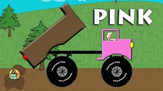 Dump Truck Colors - Learn Colors With Trucks For Kids