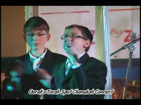 Eli Gerstner & soloists from The Yeshiva Boys Choir by Oorah's Torah Spot Chanukah Concert