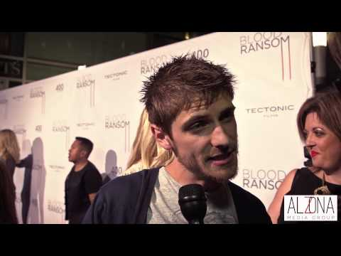Caleb Hunt at Los Angeles Premiere of Blood Ransom