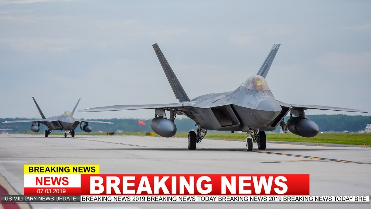 f-22 raptor stealth fighter jet deploy to qatar for the first time