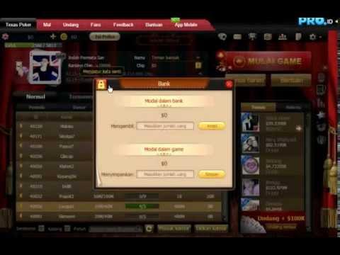 Tutorial Cara Gunakan System Keamanan Di Texas Poker Pro