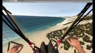 Rainbow Beach Australia - Paraflysim 3D Paragliding Simulator