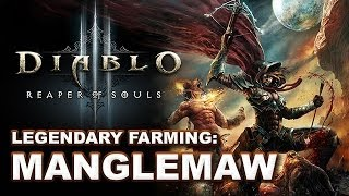 [NERFED in 2.0.4] D3 Reaper of Souls: Manglemaw Legendary Farming Guide (Torment VI)