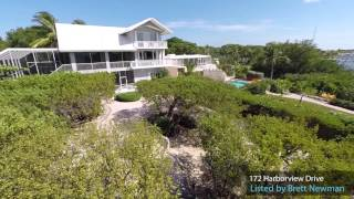 172 Harborview Drive, Tavernier, Florida Keys - Listed by Brett Newman, Coldwell Banker