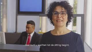 Informatievideo bezoekers rechtbank Zwolle