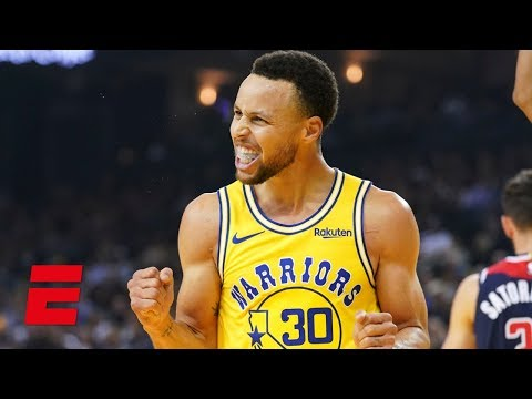 Steph Curry drops 51 points and hits 11 3-pointers in Warriors win vs Wizards | NBA Highlights
