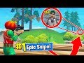 EPIC SNIPES in Fortnite Battle Royale!