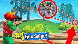 EPIC SNIPES in Fortnite Battle Royale!