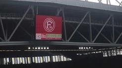 Fortuna Düsseldorf - SpVgg Greuther Fürth Mannschaftsaufstellung der Fortuna