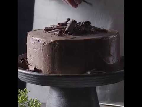 Lindt Excellence Chocolate Cake Youtube