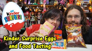 Kinder Suprise Eggs And Food Tasting From Mansell Ireland