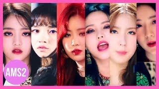 (G)I-DLE RANKING IN HANN(ALONE)