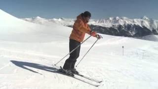★Карвинг Лыжи★ Урок 19 Техника катания на горных лыжах