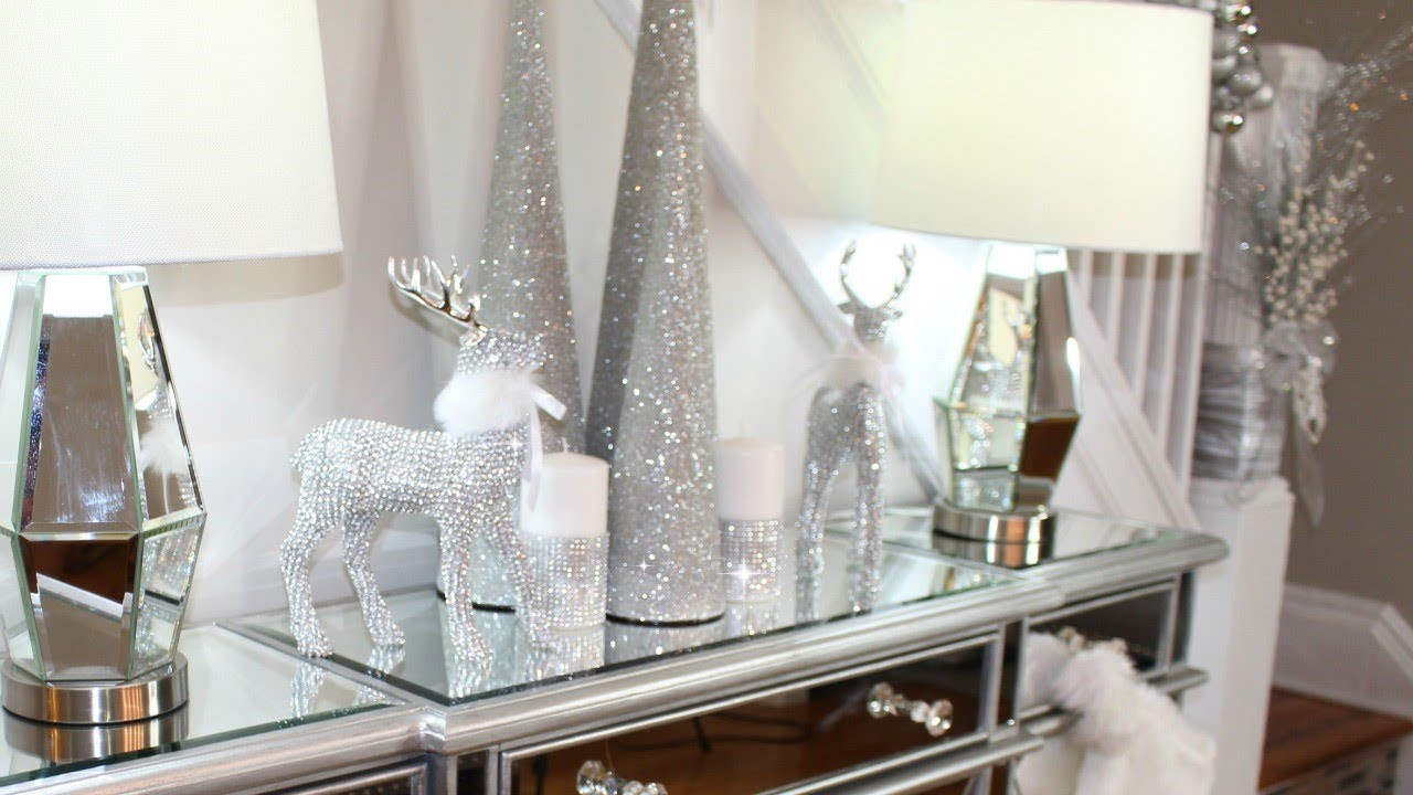 glam christmas dining room decor ideas 2017