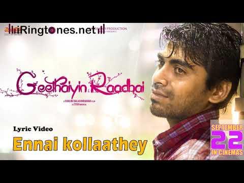Ennai Kollathey Ringtone With Lyrics - Kumaresh, Keshini