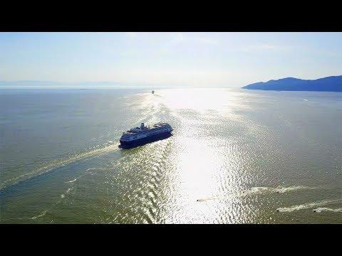 Zaandam. Holland America Cruise. Vancouver - Alaska 4k