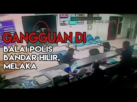 Gangguan di Balai Polis Bandar Hilir Melaka #KupiKupiSeram