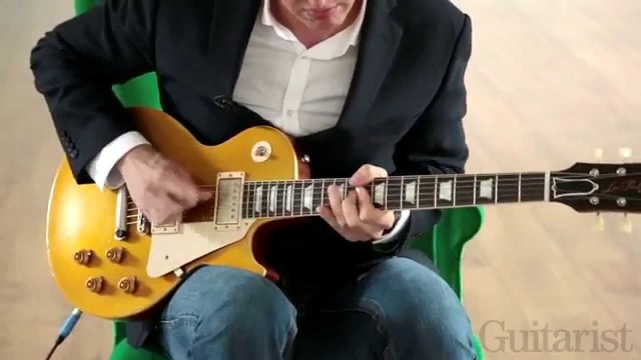 Joe Bonamassas Gibson Les Paul Tone Tips Guitar Lesson Youtube Lp Wiring Diagram