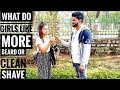 BOYS With BEARD Or Clean SHAVE/ Ranchi Girls About Boys/ Boys Must WATCH/ HR PRODUCTION
