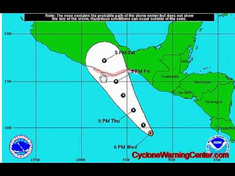 Tropical Depression #3 in the Eastern Pacific