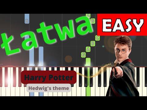 🎹 Harry Potter (motyw główny, Hedwig's theme,John Williams) - Piano Tutorial (łatwa wersja) (EASY) 🎹