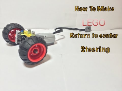 (HD)How to make lego return to center steering
