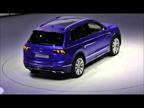 vw tiguan 2016 2017 frankfurt motor show 2015 live video youtube. Black Bedroom Furniture Sets. Home Design Ideas