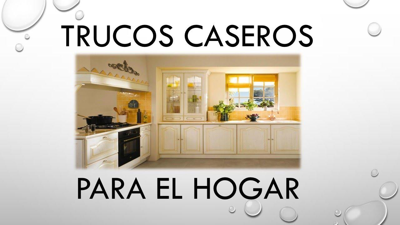 Trucos caseros para el hogar alimentos comunes youtube - Trucos de decoracion para el hogar ...