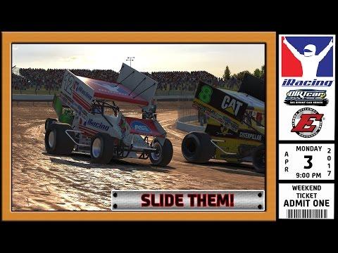 """iRacing: Slide Them!"" (305 Sprint Car at Eldora Speedway)"