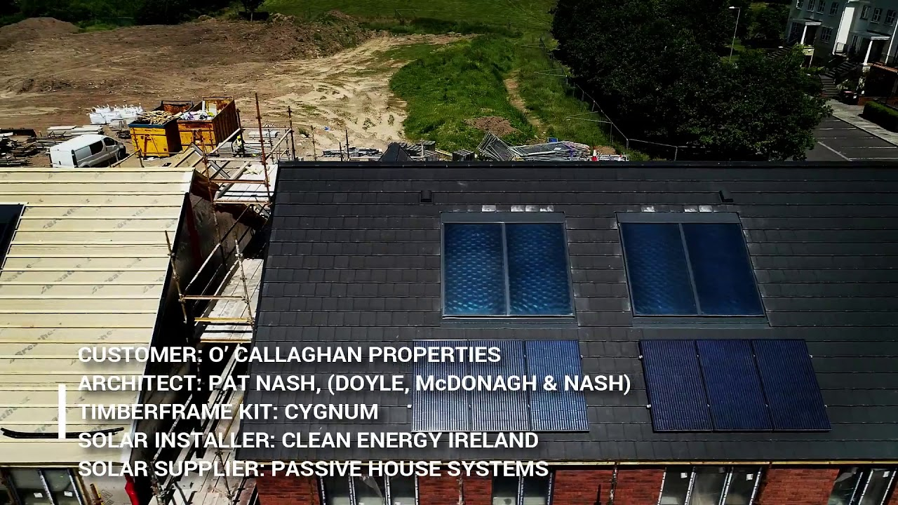 New Solar PV Installation - Passive House Systems