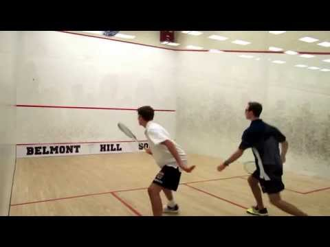 1-Andrew Braff - St. George's School v Spencer Anton- Belmont Hill School squash match