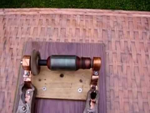 Stefan marinov ball bearing dc ac motor mov youtube for Red wing ball bearing ac motor
