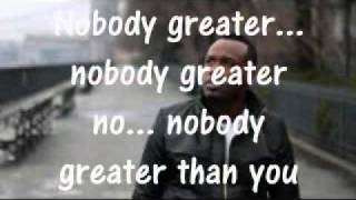 VASHAWN MITCHELL - NOBODY GREATER (lyrics)