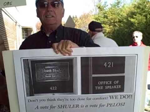 Asheville Rally at Congressman Heath Shuler