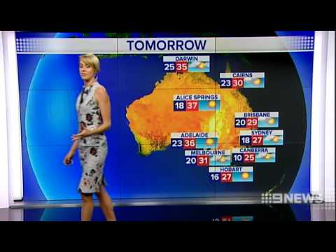 Weather 31 March 2014 9 News Perth Youtube