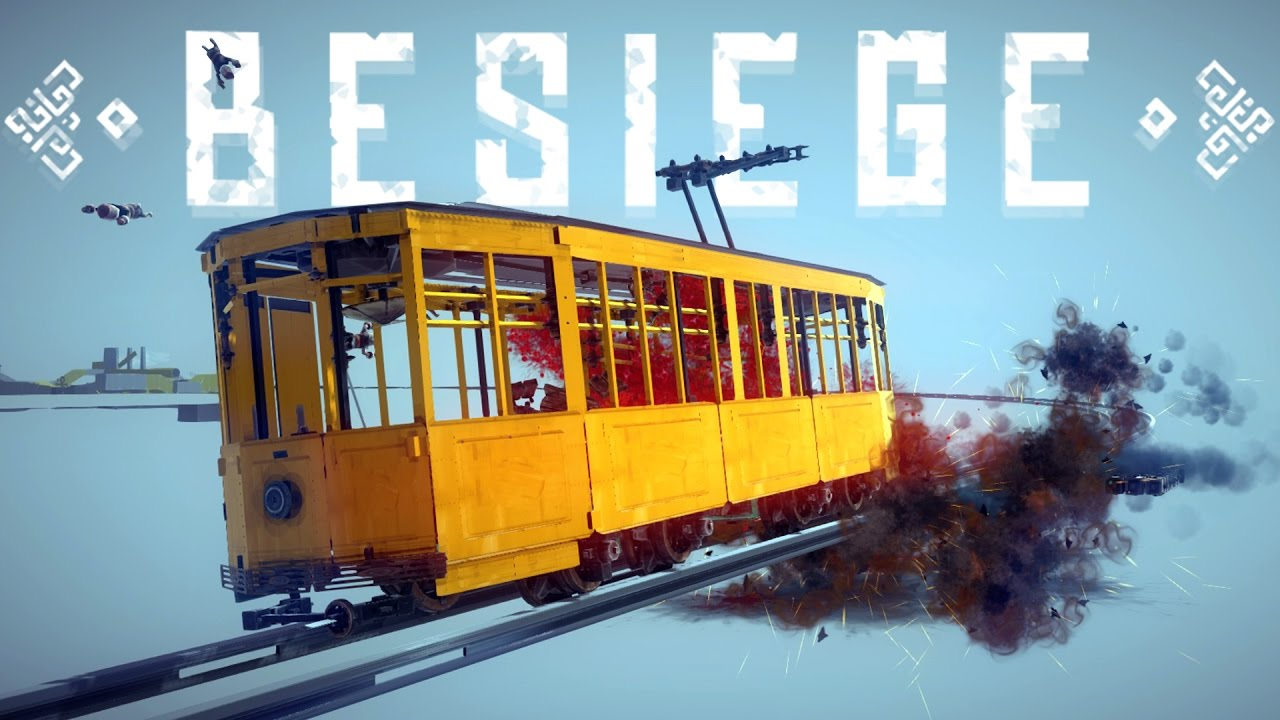 Besiege Best Creations - Supersonic Thomas, 400 km/hr Train & More ...