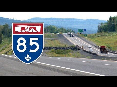 [Ep.3] Freeway Drive : Québec Autoroute 85 North