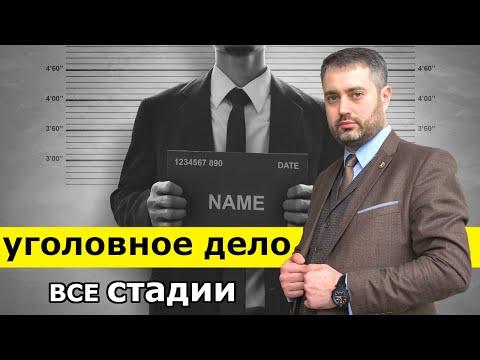 Уголовный процесс и его стадии | Возбуждение уголовного дела, приговор, апелляционный суд